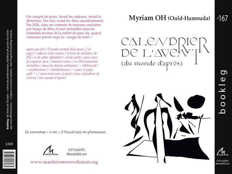Calendrier de l'avent (du monde d'après), Éditions maelstrÖm reEvolution, Collection Booklegs n°167 – Myriam OH
